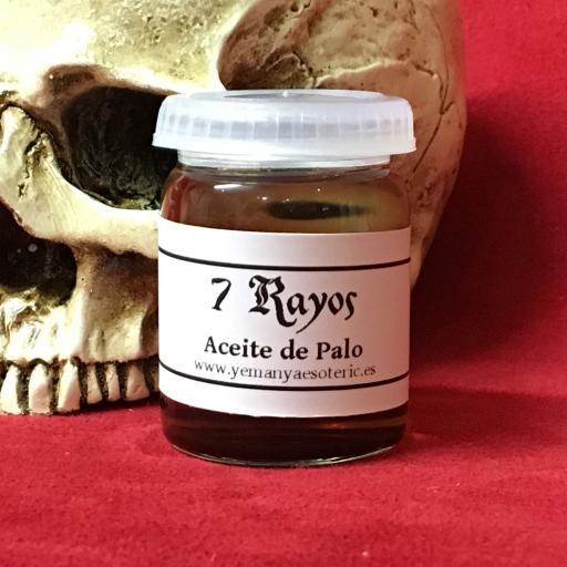 ☆ ACEITE ESOTERICO DE PALO 7 RAYOS ☆ RITUAL OIL ☆ 15ml.