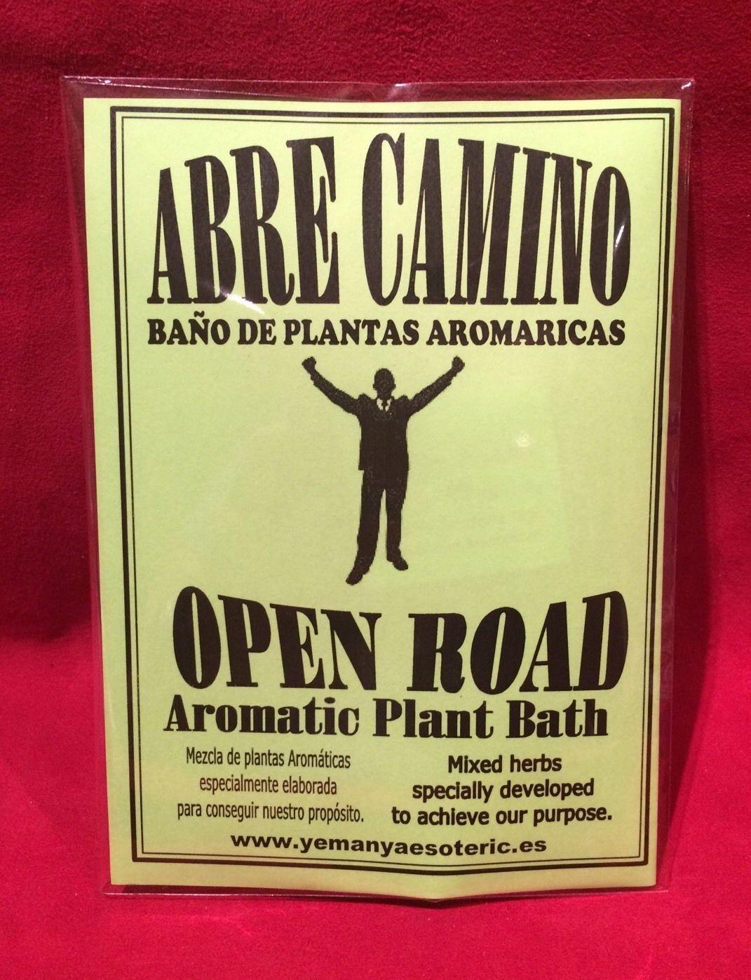 BAÑO DE PLANTAS ABRE CAMINO