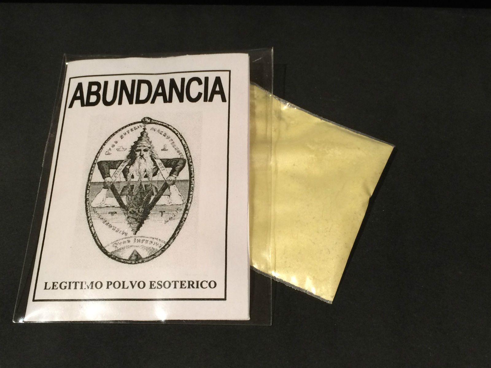 """LEGITIMO POLVO ESOTERICO ESPECIAL """"ABUNDANCIA"""""""