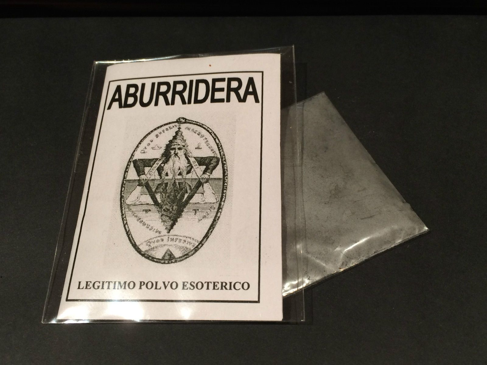 "LEGITIMO POLVO ESOTERICO ESPECIAL "" ABURRIDERA """