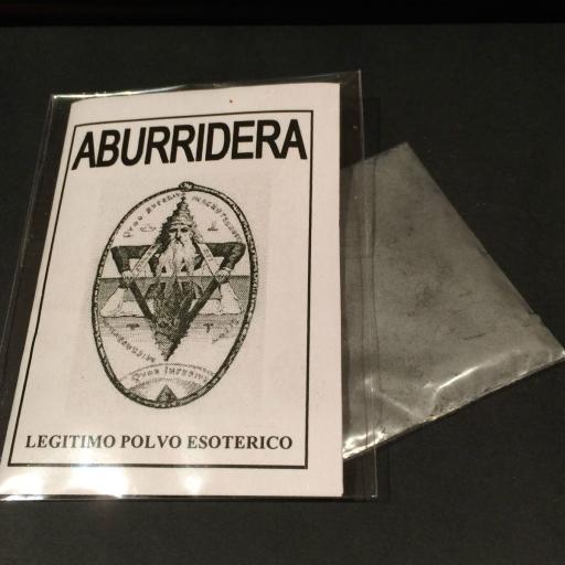 "LEGITIMO POLVO ESOTERICO ESPECIAL "" ABURRIDERA "" [0]"