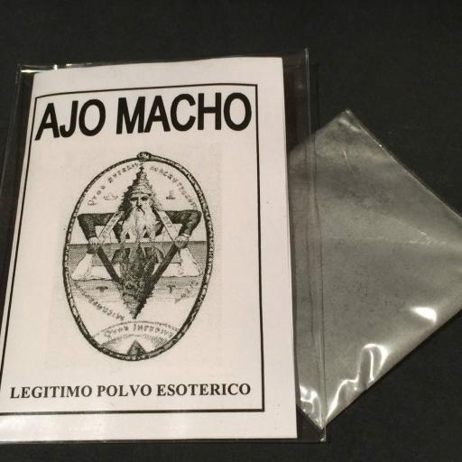 """LEGITIMO POLVO ESOTERICO ESPECIAL """" AJO MACHO """""""