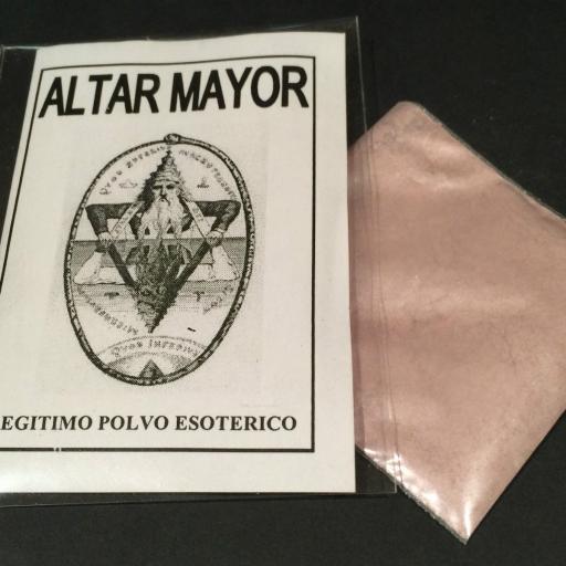 """LEGITIMO POLVO ESOTERICO ESPECIAL """" ALTAR MAYOR"""""""