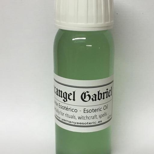 """ACEITE ESOTERICO """" ARCANGEL GABRIEL """" 60 ml"""