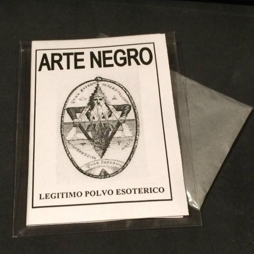 "LEGITIMO POLVO ESOTERICO ESPECIAL "" ARTE NEGRO"""