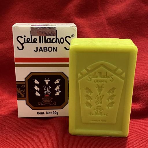 Jabon Original Siete Machos 90 gr.