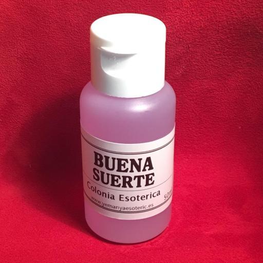 ☆ BUENA SUERTE☆ COLONIA ESOTERICA ☆☆ 50 ml.