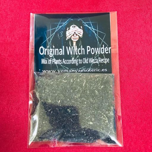 Autentico Polvo De Brujas ( Brujerias, Hechizos, Maleficos, Conjuros )