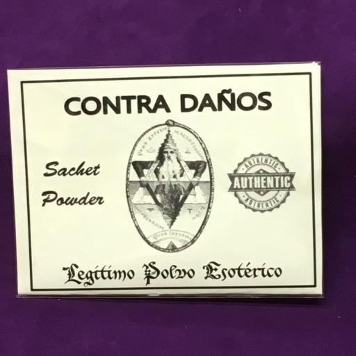 ☆ CONTRA DAÑOS ☆ LEGITIMO POLVO ESOTERICO 20 GRAMOS