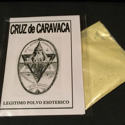 """LEGITIMO POLVO ESOTERICO ESPECIAL """" CRUZ DE CARAVACA """""""