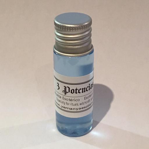 """ACEITE ESOTERICO """"3 POTENCIAS"""" 10 ml"""