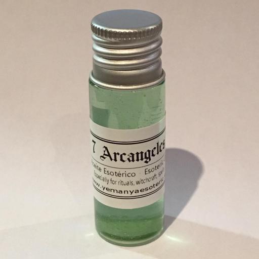 "ACEITE ESOTERICO ""7 ARCANGELES"" 10 ml"