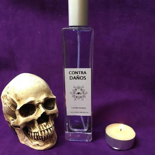 ☆ CONTRA DAÑOS ☆ COLONIA ESOTERICA ☆☆ 50 ml. Wicca Spell Magick Perfume Ritual
