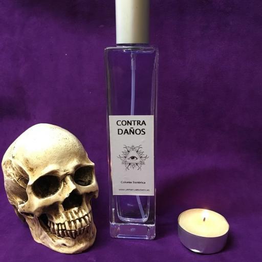 ☆ CONTRA DAÑOS ☆ COLONIA ESOTERICA ☆☆ 100 ml. Wicca Spell Magick Perfume Ritual