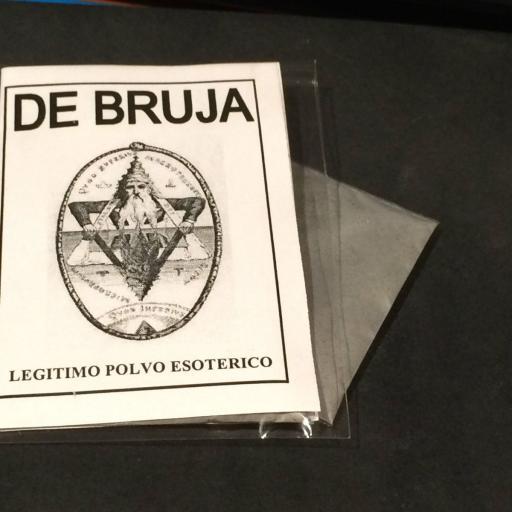 "LEGITIMO POLVO ESOTERICO ESPECIAL "" DE BRUJA "" [0]"