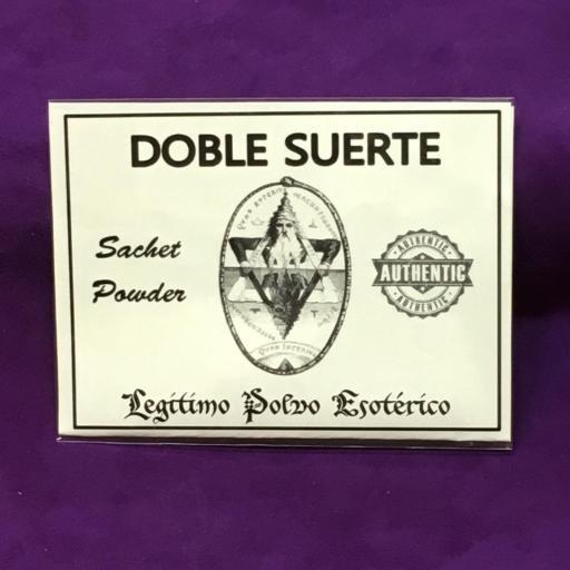 ☆ DOBLE SUERTE ☆ LEGITIMO POLVO ESOTERICO 20 GRAMOS