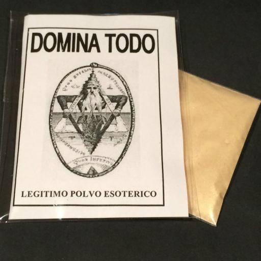 """LEGITIMO POLVO ESOTERICO ESPECIAL """" DOMINA TODO """""""