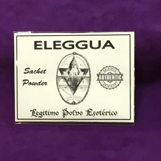 ☆ ELEGGUA ☆ LEGITIMO POLVO ESOTERICO 20 GRAMOS