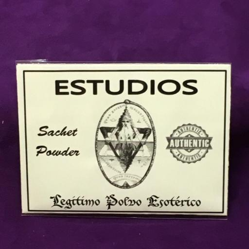 ☆ ESTUDIOS ☆ LEGITIMO POLVO ESOTERICO 20 GRAMOS