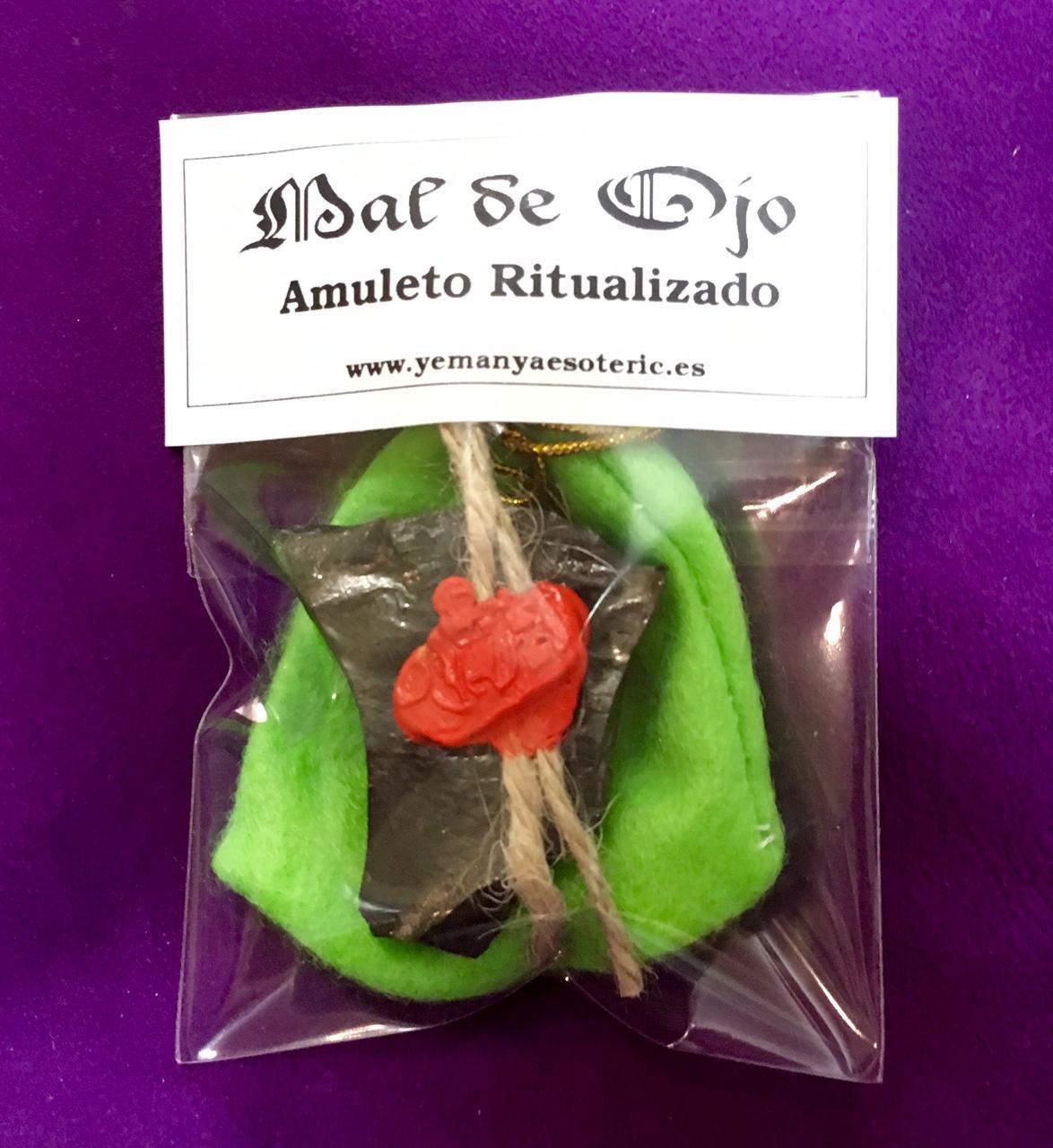 AMULETO RITUALIZADO MAL DE OJO