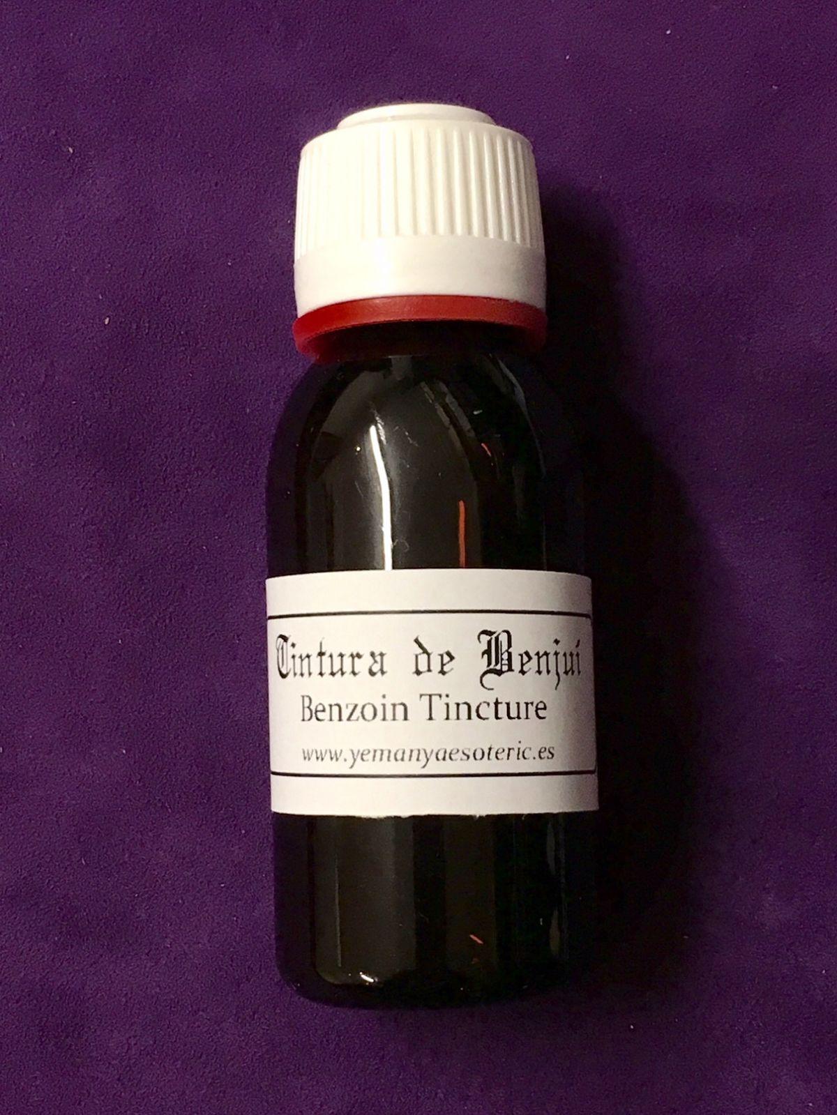 TINTURA DE BENJUI 30 ml
