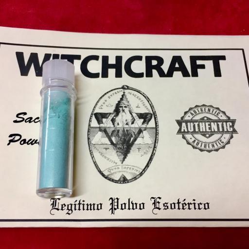 ☆ WITCHCRAFT ☆ LEGITIMO POLVO ESOTERICO !!! SACHET POWDER