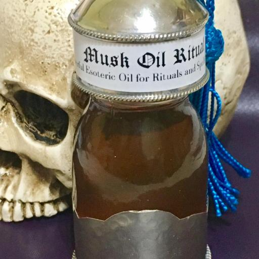 MUSK Oil Esoteric Aceite Esoterico Ritual Spell Magic Witchcraft 30ml.