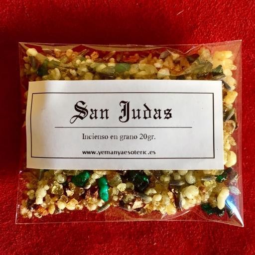 """"""" SAN JUDAS """" INCIENSO EN GRANO 20 gr."""