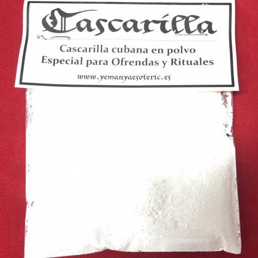 AUTENTICA CASCARILLA SANTERIA IFA EN POLVO