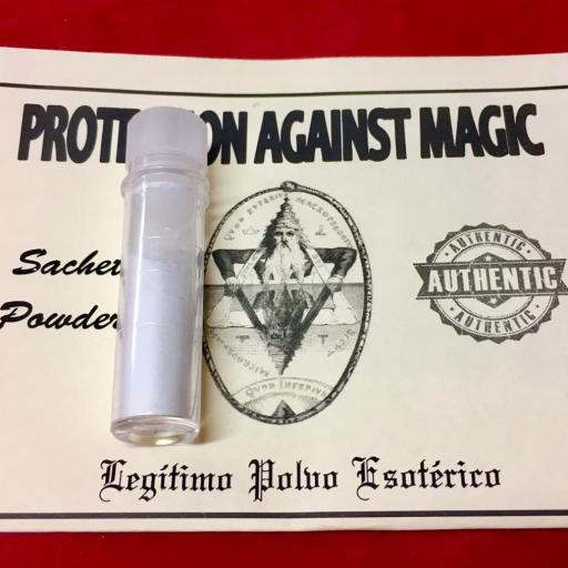 ☆ PROTECTION AGAINST MAGIC ☆ LEGITIMO POLVO ESOTERICO !!! SACHET POWDER