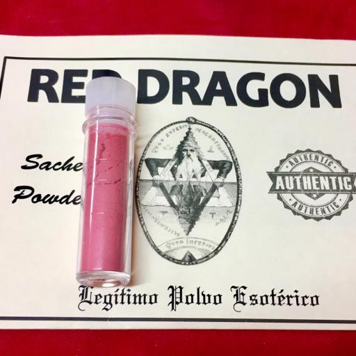 ☆ RED DRAGON ☆ LEGITIMO POLVO ESOTERICO !!! SACHET POWDER