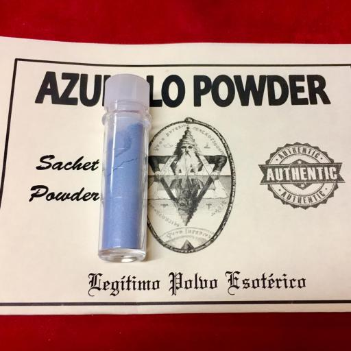 ☆ AZULILLO POWDER ☆ LEGITIMO POLVO ESOTERICO !!! SACHET POWDER