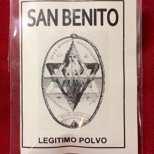 LEGITIMO POLVO ESOTERICO SAN BENITO