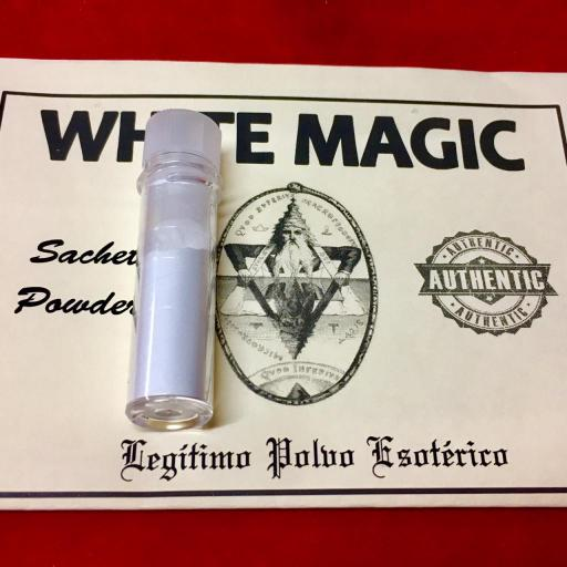 ☆ WHITE MAGIC ☆ LEGITIMO POLVO ESOTERICO !!! SACHET POWDER