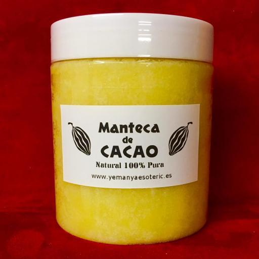 MANTECA DE CACAO 250ML TARRO