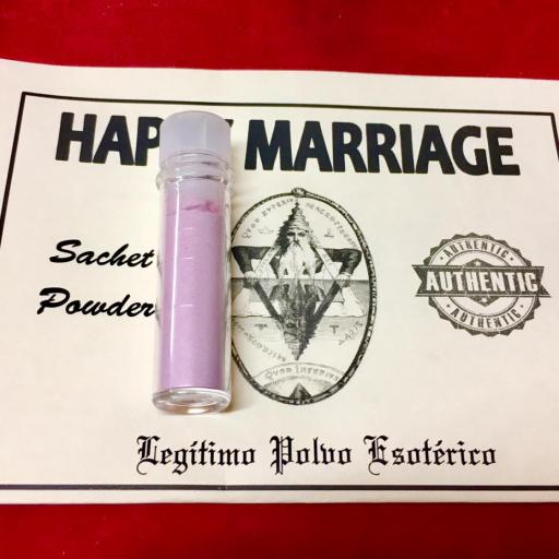 ☆ HAPPY MARRIAGE ☆ LEGITIMO POLVO ESOTERICO !!! SACHET POWDER