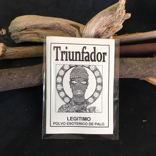 """ TRIUNFADOR "" POLVO ESOTERICO DE PALO - SANTERIA - IFA"