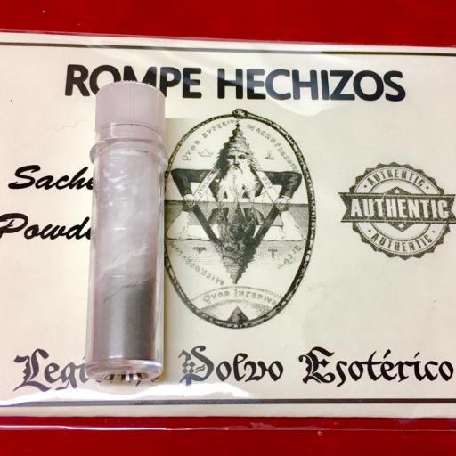 ☆ ROMPE HECHIZOS ☆ LEGITIMO POLVO ESOTERICO !!! SACHET POWDER