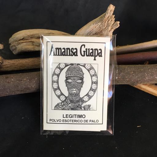 """"""" AMANSA GUAPA """" POLVO ESOTERICO DE PALO - SANTERIA - IFA"""