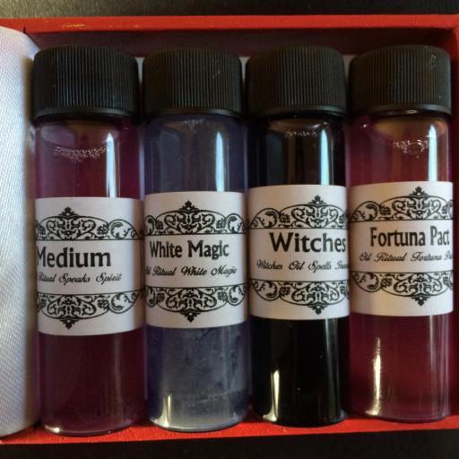 SET WICCA  ACEITES DE RITUAL 10ml