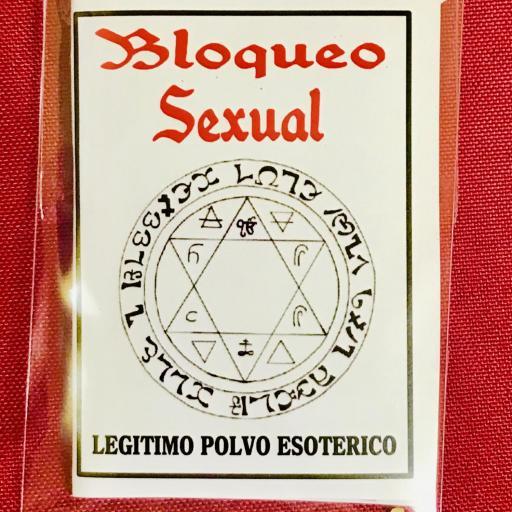 ☆ BLOQUEO SEXUAL ☆ LEGITIMO POLVO ESOTERICO ESPECIAL !!!