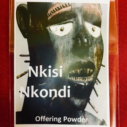 POLVO NKISI NKONDI (OFRENDAS)
