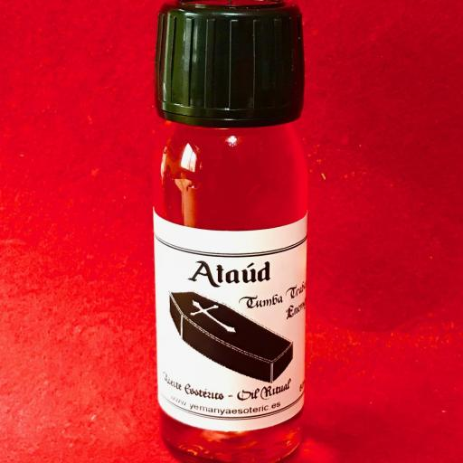 ☆ ATAUD ☆ ACEITE ESOTERICO ☆ RITUAL OIL ☆ 60ml.