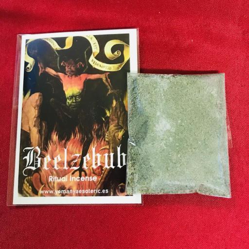 ⚝ Beelzebub Ritual Incense Black Magic ⚝ Incienso Ritual Magia Negra Belzebu ⚝