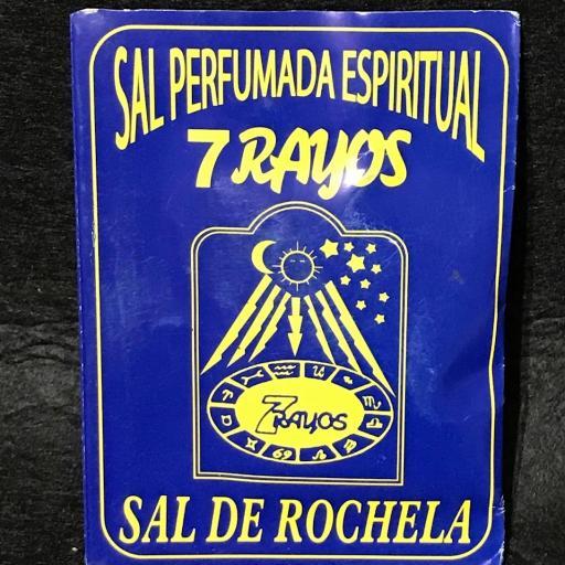 ☆ SAL PERFUMADA 7 RAYOS ☆ ESPIRITUAL SAL DE ROCHELA ☆ BAÑOS Y RIEGO