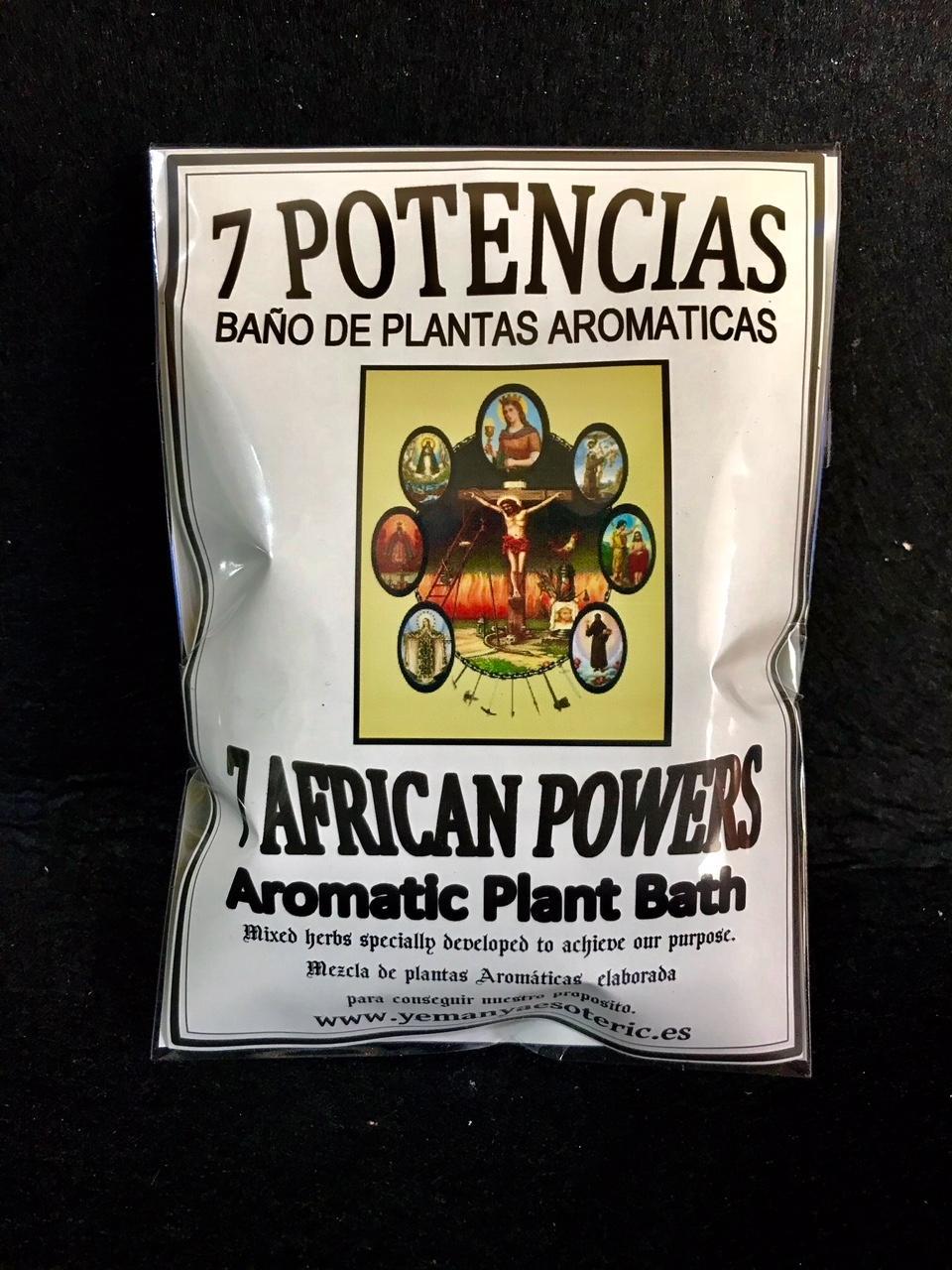 BAÑO DE PLANTAS 7 POTENCIAS