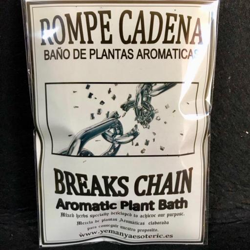 BAÑO DE PLANTAS ROMPE CADENA