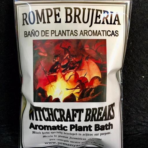 BAÑO DE PLANTAS ROMPE BRUJERIAS