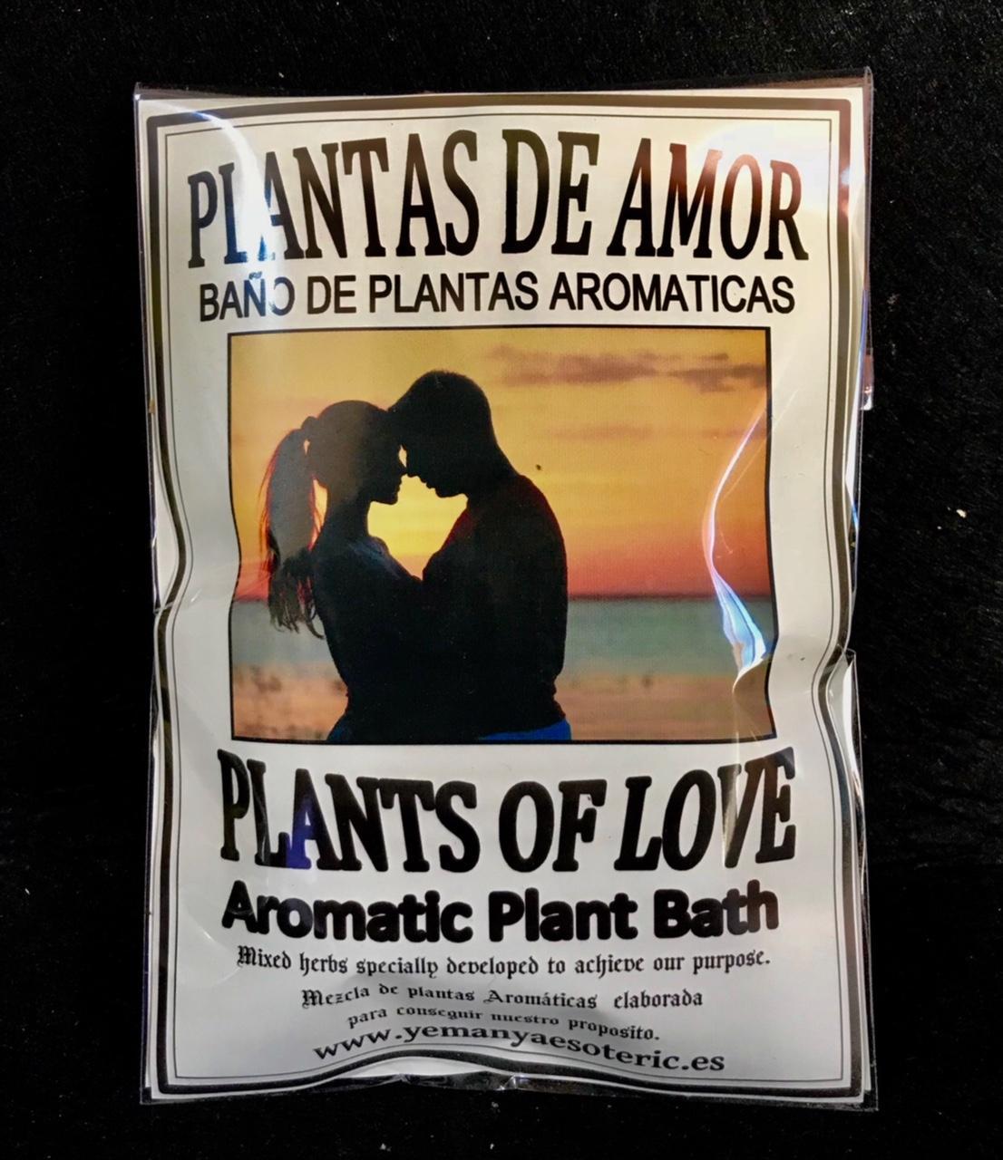 BAÑO PLANTAS DE AMOR