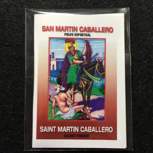 SAN MARTIN CABALLERO POLVO ESPIRITUAL